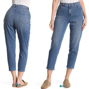 Eileen Fisher Organic Cotton Ankle Jeans